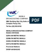 Mbc Radio Stations 2014 (2)