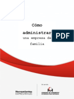 Como Administrar Una Empresa de Familiar