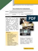 COTIZACIÓN DE PRODUCTOS TECNOLÓGICOS