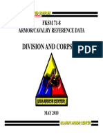 FKSM 71-8 Division and Corps HQ May2010