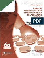 Gestion de No Conformidades en Laboratorio OPS 2009
