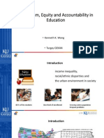 Federalism, Equity and Accountability in Education