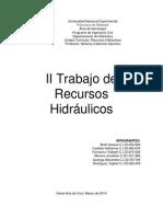 II Trabajo de Recursos Hidráulicos.docx