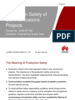 1 Teaching Material for Production Safety of Communications Projects( 01.August.2006). BTS Huawei