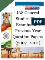 Download UPSC IAS Pre LAST 5 Year Papers General Studies