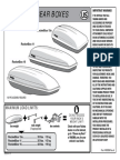 Yakima Rocketbox Roof Box Instructions Manual PDF