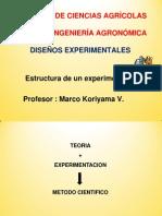 Esructura de Experimento