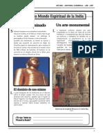 III BIM - 1er. Año - H.U. - Guía 1 - La Cultura de la India