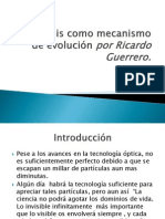 Simbiosis como mecanismo de evolución por Ricardo Guerrero