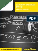 Laporan Tahunan 2012 - PT Goodyear Indonesia, Tbk