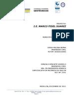 Estudio de Suelos Sebastian Osorio Gallego