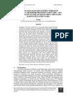 3 Susilah - Studi Analisa Kapasitas Debit Terhadap Kebutuhan Air Bersih