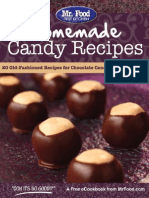 Homemade Candy Recipes 20 Old-Fashioned Recipes for Chocolate Candy Fudge More