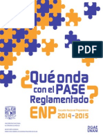 Folleto Pase Reglamentado 2015