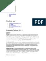 Examen de Vega 190 Puntos -2013-1