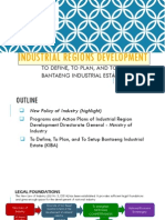 Industrial Regional Development Presentation Final