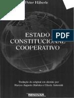HÄBERLE, Peter - Estado Constitucional Cooperativo