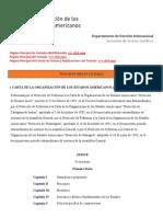 Carta de la OEA