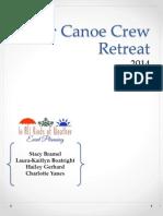 gator canoe crew outline
