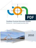 Coastbase -Terminal Information Booklet