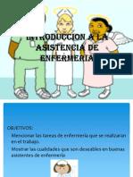1.- Introduccion a Asistente de Enfermeria