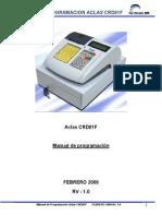 Manual de Programacion CRD81F