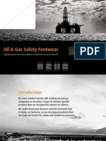 Project Sales Corp, India - Oil & Gas Safety Boots Brochure 2014
