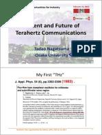 terahertz communication
