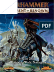 Warhammer Escarmouche - Regiment of Renom