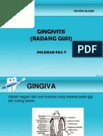 Kuliah Review Ginggivitis