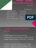 Model _ Model Pembelajaran Dalam Sains