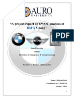 Swot Analysis of BMW Group
