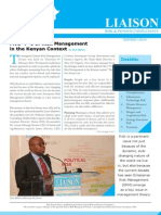 LIAISON - Risk Forum Africa Newsletter