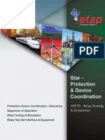 Star-Protective & Device Coordination - ETAP