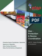Star-Protective & Device Coordination - ETAP