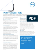 Server Poweredge t610 Specs En