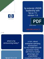 Hp-ux11i Pr Presentation