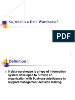 01_What is a Data Warehouse