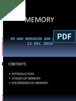 memory  UG