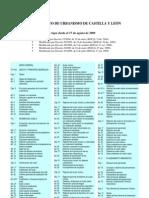 Reglamento de Urbanismo Actualizado (2009)