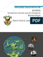 Historia de La Bacteriologia
