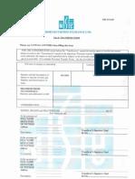 Sale Transfer Form