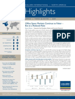 North America Office Highlights 3Q 2009