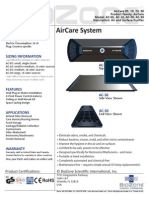 AirCare Spec Sheet