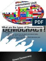 government presentation