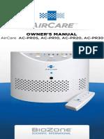BioZone Scientific PR Owners Manual1