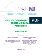 Oyu Tolgoi Socio Economic Impact Assessment 2009 ENG