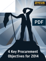 Four Key Procurement Objectives for 2014