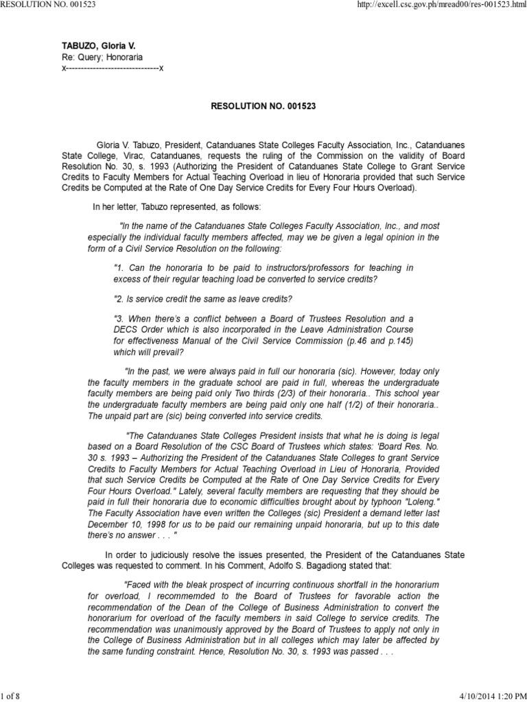Resolution Nojkhjk  001523 | Overtime | Board Of Directors