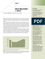 Trends in world military expenditure, 2013